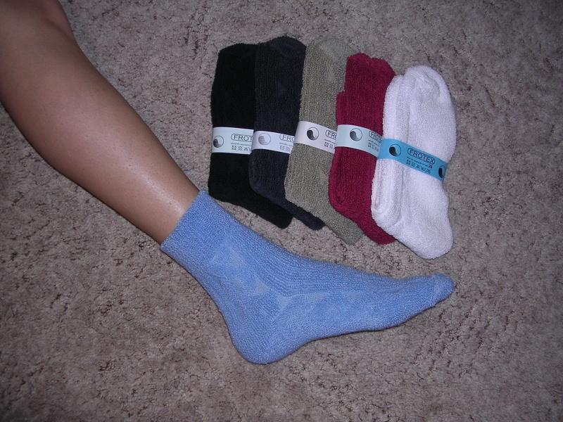 Ponožky froté - Ponožky FROTEX b62ad2c885