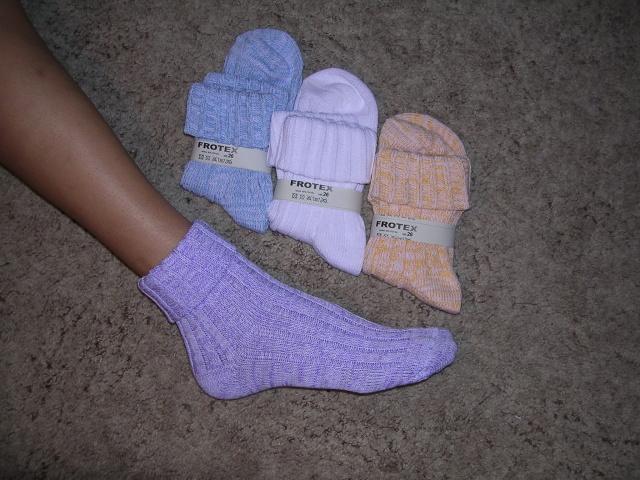 Ponožky ohrnovací - Ponožky FROTEX ce43819d12
