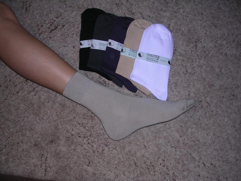 Ponožky tenké - hladké - Ponožky FROTEX 7dd6efa9a1