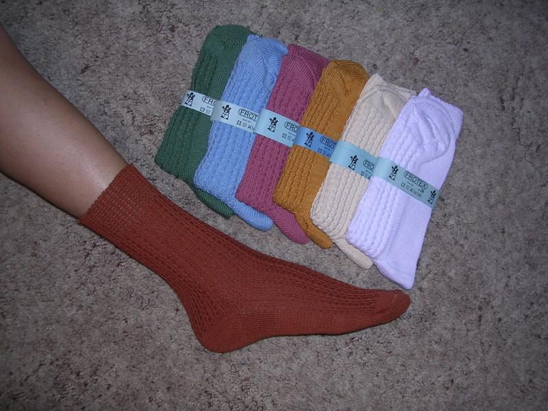 Ponožky zimní - Ponožky FROTEX d39c8a08ef